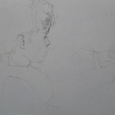 Example of a quick live drawing