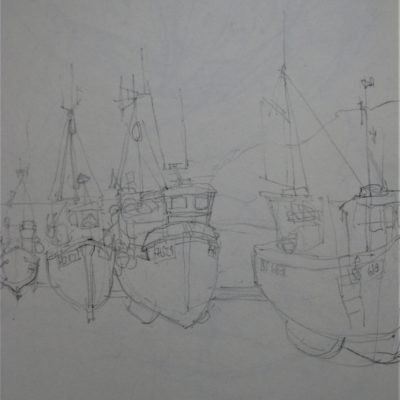 Daily Practice Drawing. Cadgwith